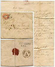 AUSTRIA 1860 LETTER BILIN BOXED CANCEL on 5Kr LEITMERITZ CZECH TEPLITZ