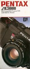 Camera Brochure - Pentax - A3000 (CB91)