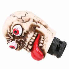 J469 Car Manual Gear Shift Knob Shifter Lever Stare Tongue Skull Head for Honda