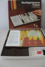 Backgammon Tutor Game 1974 Milton Bradley L#1153