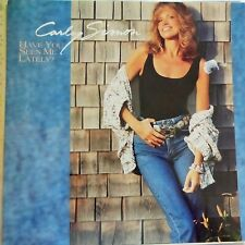 CARLY SIMON LP HAVE YOU SEEN ME LATELY? 1990 EUROPE VG++/EX