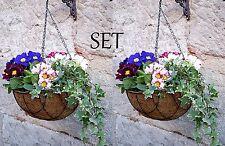 2er SET Blumenampel Hängekorb Hängeampel Hängetopf Pflanzenampel Pflanzampel XL