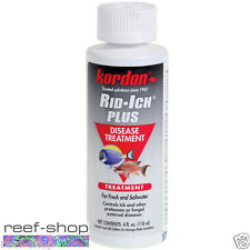 Kordon Rid Ich Plus 4 oz Freshwater & Marine Fish Disease Medicine FREE USA SHIP