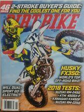 Dirt Bike Nov 2017 Husky FX350 2 Stroke Buyer's Guide Suzuki FREE SHIPPING sb