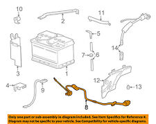 BMW OEM 98-03 540i-Battery Cable 12421436902