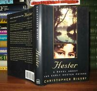 Bigsby Christopher - Hester Prynne HESTER  1st Edition 1st Printing