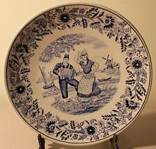 DELFT PLATE MADE FOR ROYAL SPHINX BY BOCH HOLLAND BELGIUM
