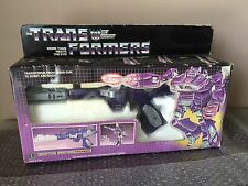 Vintage Hasbro 1984 Transformers g1 Shockwave Sound works Loose Complete