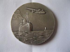 belle et grosse médaille en argent des chargeurs réunis 1923-1958.tb.