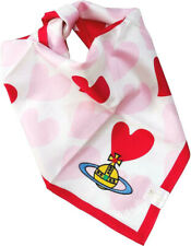 Vivienne Westwood Japan Ltd Classic Cotton Handkerchief Heart & Orb-50cm