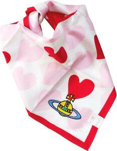 Vivienne Westwood Japan Ltd Classic Cotton Handkerchief Heart & Orb-50cm
