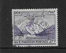 Pakistan  AS.2 CONQUEST OF K2 1954 USED    MY REF 401