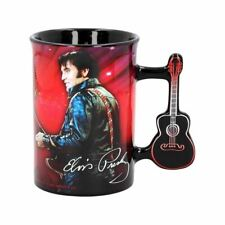 More details for elvis presley 1968 tour coffee mug tea cup - boxed the king gifts