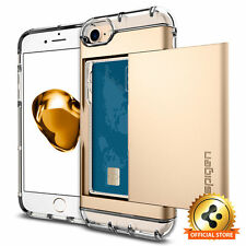 Spigen iPhone 7s / 7 Case Crystal Wallet Champagne Gold