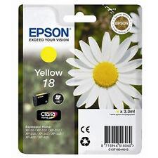 1 amarillo Original Epson xp-225 xp-322 xp-412 xp-415 xp-422 xp-425 Cartucho De Tinta