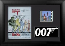 Dr No James Bond Stunning 35 mm Film Cell Display Framed Stunning 007 Signed