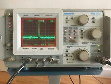 Tektronics 492 Spectrum Analyzer Option 123 Includes Tek Scope Cart