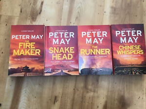 peter may china thrillers X 4