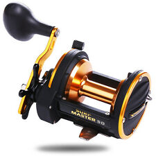 High Speed Drag Fishing Reels Right Hand Gear Baitcasting Trolling Reel US Stock