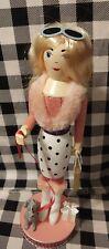 "2020 Holiday Nutcracker Glam girl shopper Christmas Decoration 14"" Fashion"