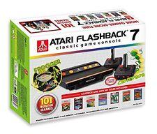 Atari JVCRETR0100 Retro-Klassik Spielekonsole inklusive 101 Spiel anthrazit