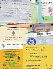 36 MISC RUGBY TICKETS BUNDLE TEAMS FROM ENGLAND, SCOTLAND, IRELAND, AUSTRALIA,