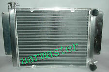 Mazda RX2 RX3 RX4 RX5 Aluminium Radiator with heater pipe