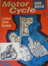 Motorcycle Magazine November 1964 London Show Review BSA Lightning Test
