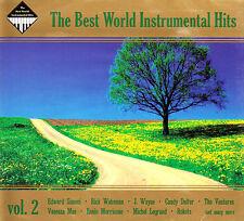 THE BEST WORLD INSTRUMENTAL HITS. VOLUME 2 - 2CD DIGIPAK BRAND NEW