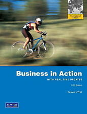Business in Action 5th Edition by Bovee, Thill 9780132546881