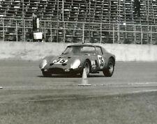 Vintage 8 X 10 Auto Racing Photo 1964 Daytona Ferrari 250 GTO David Piper