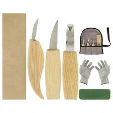AU 6x Wood Carving Knife Chisel Woodworking Whittling Cutter Chip Hand Tool kit`