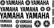 Yamaha & Yamaha logo Motorcycle Van Car Vinyl Decals Stickers 17 set 24 colours