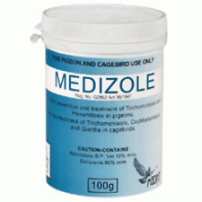 Pigeon Product - Medizole 100g - (Canker) - by Medpet - Racing Pigeons