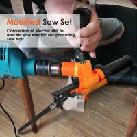 Portable Reciprocating Saw Drill Metal Woodworking Cutting Electric Drill Tool