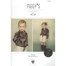 """FIGGY'S """"AYASHE"""" BLOUSE AND SKIRT Sewing Pattern"""
