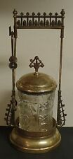 Late 1800's Ornate Victorian Quadruple Plated Pickle Castor by E G Webster #48