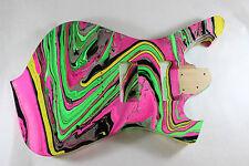Swirled Fman body fits Ibanez (tm) 7 string RG and UV Necks, Hipshot Bridge P194