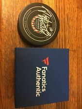 2015 Winter Classic NHL Hockey Puck Patrick Sharp Autograph Authenticated