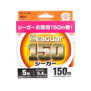 Seaguar 150 150m Fluorocarbon Line 150m Size 5 20lb (0843)