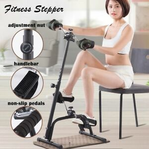 For Elderly Exercise Bike Foot Pedal Stepper Cycling Equipment Fitness Home Gym