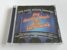 The Cliff Adams Singers - The Musicals - Blue Cover (CD Album) Used Very Good