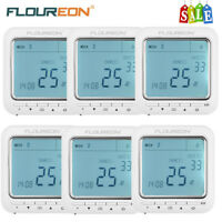 Digital LCD Display Programmable Heating Thermostat Room Temperature Control 16A