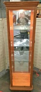 PHILIP REINISCH #345 CURIO CABINET LIGHTED DISPLAY TROPHY CASE CHINA CABINET
