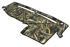 NEW Realtree Max-5 Camo Camouflage Dash Mat Cover / FOR 2004-12 COLORADO CANYON