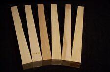 6 Piece Hickory Lathe Turning Blank Lumber 1x1x12