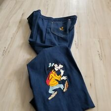 Antonio Guiseppe Jeans Disney Goofy pants Men 36 jeans bell bottoms vtg vintage