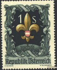 Österreich 966 (kompl.Ausg.) postfrisch 1951 Pfadfindertreffen