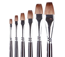 Golden Maple Brand Brush-Flat Red Sable Hair-Artist's Painting Supplies Crafts