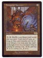 Magic the Gathering MTG Urza's Saga, Temporal Aperture x1 1x NM (2)